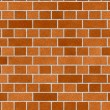 Mosaic of brick wall texture — Stock Photo
