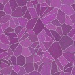 Glance violet rocks seamless pattern — Stock Photo
