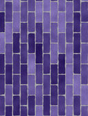 Texture of violet brick wall — Stock Photo