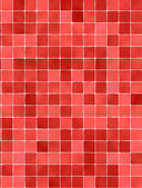 Red detailed pattern texture with sparkling mosaic — Stock Photo
