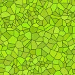 Grunge green mosaic, green background — Stock Photo