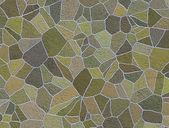 Green sidewalk blocks background — Stock Photo