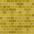 Stock Photo: Weathered stained old brick wall background