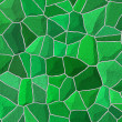 Broken tiles mosaic floor or wall. Background texture — Stock Photo