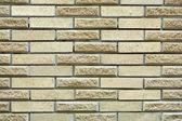 High resolution cream brick wall texture — Stock Photo
