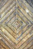 Textuur van oude gekleurd houten deur — Stockfoto