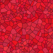 Red background from tile mosaic — Stock Photo
