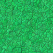 Green bricks abstract seamless pattern — Stock Photo