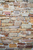 Wall of stones as a texture — Stock Photo