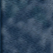 Blue fur texture — Stock Photo