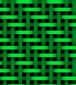 Abstract green  lines on background — Stock Photo
