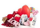Hearts for Valentine — Stock Photo