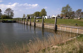Laaksum гавань — Стоковое фото