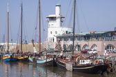 Harbor of Harlingen — Stock Photo