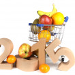Healthy New Years Wishes — Stok fotoğraf #35312029