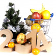 Xmas and the new year — Foto Stock