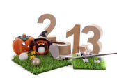 Golf in the New Year — Foto de Stock
