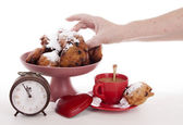 Oliebollen for the New Year — Foto Stock