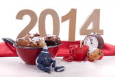 Oliebollen for the New Year — 图库照片