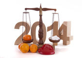 Balance for the New Year — Stockfoto