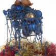 Xmas in a shopping cart — Stock Photo