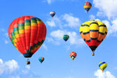 Hot air balloons — 图库照片