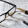 Tax form — Stock Photo #17358815
