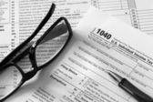 Formulaire d'impôt — Photo