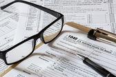 Vergi formu — Stok fotoğraf