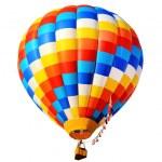 Hot air balloon isolated — Stock Photo #18060801