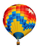 Hot air balloon isolated — Stock Photo