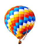 Hot air balloon isolated — Stock Photo