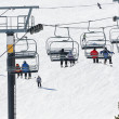 Stock Photo: Ski lift