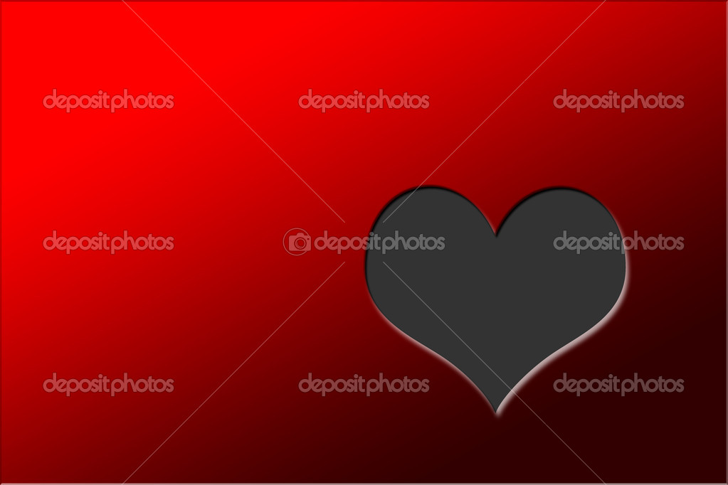 Valentine's day background with heart — Stock Photo #18441333
