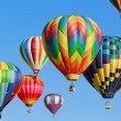 Hot air balloons — Foto de Stock