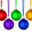 christmas balls — Stock Photo #35129893