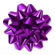 Purple bow — Stock Photo