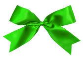 Green bow — Stock Photo