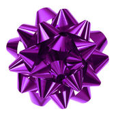 Purple bow — Stock Photo