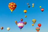 Hot air balloons — Foto Stock