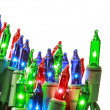 Stock Photo: Christmas lights