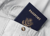 Oss passport — Stockfoto
