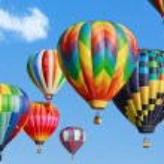 Hot air balloons — Stock Photo #41272565