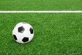 Bola de futebol — Foto Stock