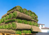Pile of sod — Stock Photo