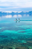 Paddle board — Foto de Stock