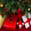 Christmas gifts — Stock Photo #7590410