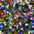 Stock Photo: Colorful small beads