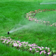 Garden sprinkler — Stock Photo #26394227