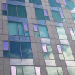 Glass facade of modern building — Stock Photo